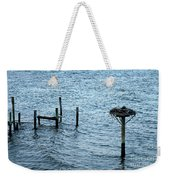 Protected Osprey Nest Weekender Tote Bag