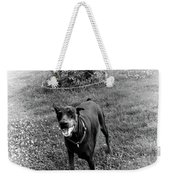 Protecting My Yard Not Weekender Tote Bag