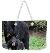 Protecting The Cub Weekender Tote Bag