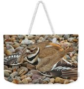 Protecting The Nest Weekender Tote Bag