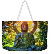 Protection Buddha #2 In Japanese Tea Garden At Golden Gate Park - San Francisco Weekender Tote Bag
