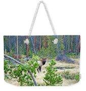 Protective Elk Weekender Tote Bag