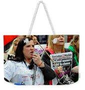 Protest Rally Weekender Tote Bag