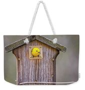 Prothonotary Warbler House Weekender Tote Bag