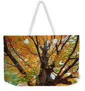 Proud Maine Tree In The Fall Weekender Tote Bag