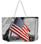 Proud Nautical American  Weekender Tote Bag