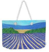 Provence Lavender Field Weekender Tote Bag