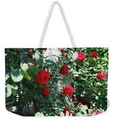 Provence Red Roses Weekender Tote Bag