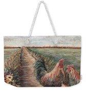 Provence Roosters Weekender Tote Bag