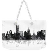 Providence Rhode Island Skyline Weekender Tote Bag