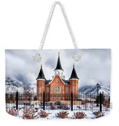 Provo City Center Temple Lds Large Canvas Art, Canvas Print, Large Art, Large Wall Decor, Home Decor Weekender Tote Bag