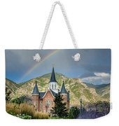 Provo Temple Fairy Tale Weekender Tote Bag