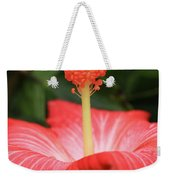 Provocative Hibiscus Weekender Tote Bag