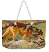 Prowler - Grey Wolf Weekender Tote Bag