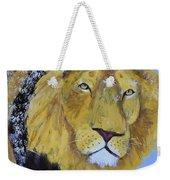 Prowling Lion Weekender Tote Bag