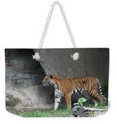 Prowling Tiger Weekender Tote Bag