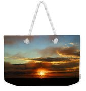 Prudhoe Bay Sunset Weekender Tote Bag
