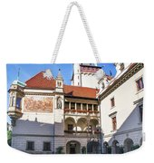 Pruhonice Castle Architecture Weekender Tote Bag