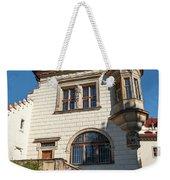 Pruhonice Castle Side View Weekender Tote Bag