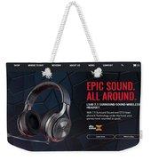 ps4 headset Houston Weekender Tote Bag