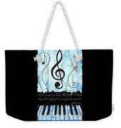 Psalm 40/3 Blue Weekender Tote Bag