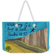 Art Therapy For Your Wall Psalm Art Weekender Tote Bag