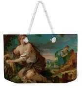 Psyche Gathering The Fleece Of The Rams Of The Sun Weekender Tote Bag