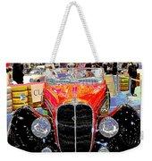 Psychedelic 1947 Delahaye 135m Letourner Et Marchand Cabriolet Weekender Tote Bag