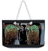 Psychedelic Angel Weekender Tote Bag