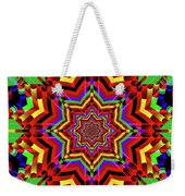 Psychedelic Construct Weekender Tote Bag