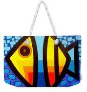 Psychedelic Fish Weekender Tote Bag