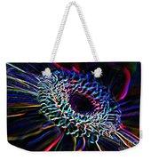 Psychedelic Neon Weekender Tote Bag