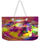 Psychedelic Sun Weekender Tote Bag