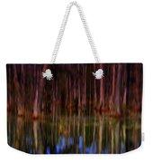 Psychedelic Swamp Trees Weekender Tote Bag