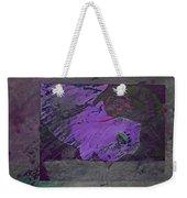 Psycho Warhol Deep Purple Weekender Tote Bag