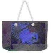 Psychowarhol Blue Weekender Tote Bag