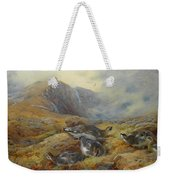 Ptarmigan Danger Aloft By Thorburn Weekender Tote Bag