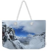 Ptarmigan Pass Tunnel North - Glacier National Park Weekender Tote Bag