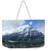Ptarmigan Trail Overlooking Elizabeth Lake 5 - Glacier National Park Weekender Tote Bag