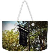 Public Garden 1837 Boston Weekender Tote Bag