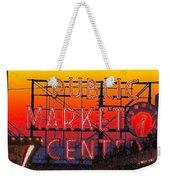 Public Market Mosaic 1 Weekender Tote Bag
