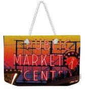 Public Market Mosaic 2 Weekender Tote Bag