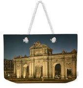 Puerta De Alcala Night Weekender Tote Bag