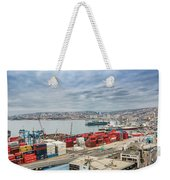 Puerto De Valparaiso Weekender Tote Bag