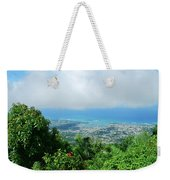 Puerto Plata Mountain View Of The Sea Weekender Tote Bag