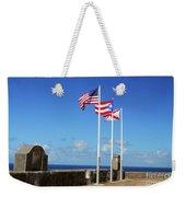 Puerto Rican Flags Weekender Tote Bag