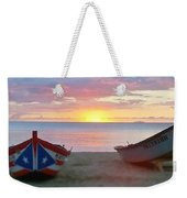 Puerto Rico Sunset On The Beach Weekender Tote Bag
