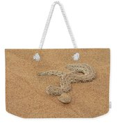 Puff Adder Snake Weekender Tote Bag