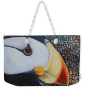 Puffin Glam Weekender Tote Bag