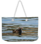 Puffin Reflected Weekender Tote Bag